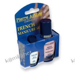 Pierre Arthes Zestaw do french manicuru (lakiery +  szablony)