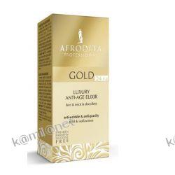 Kozmetika Afrodita Gold 24 Eliksir złoty do twarzy 30 ml