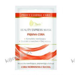 AVA BEAUTY EXPRESS MASK PIĘKNA CERA Kompleks nawilżający + Ekstrakt z marchwi + Olej sojowy  7ml
