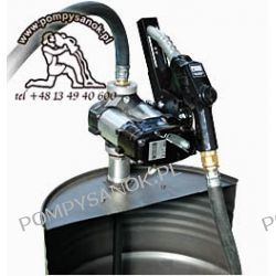 DRUM 56 A60 - jednostka do prznoszenia płynów z pistoletem automatycznym Pompy i hydrofory