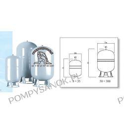 Naczynie wzbiorcze DSV 300 CE - 300 litrów Pompy i hydrofory