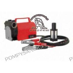 KPT 12-40 Pompa powierzchniowa do oleju napędowego i opałowego zasilana akumulatorowo 12V  Pompy i hydrofory