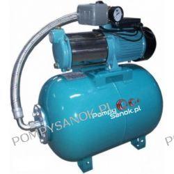 Zestaw hydroforowy MH-1300 INOX ze zbiornikiem 50L 230V Pompy i hydrofory