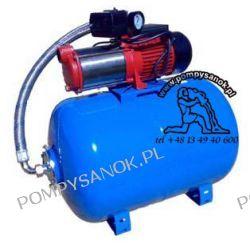Zestaw hydroforowy MH-1300 INOX ze zbiornikiem 80L 230V Pompy i hydrofory