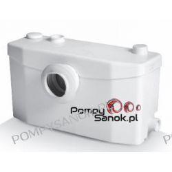 Saniplus SILENCE - pompo rozdrabniacz do wc i umywalki Pompy i hydrofory