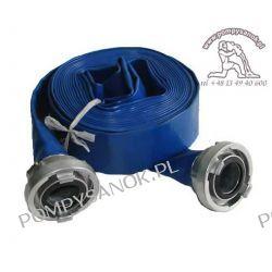 Wąż tłoczny Ø 50 z końcówkami (10m) Pompy i filtry