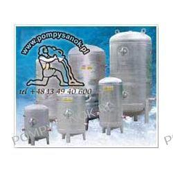 Zbiornik hydroforowy ocynkowany 2000L pionowy