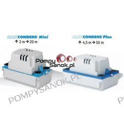 Sanicondens PLUS pompa do odprowadzania skroplin z kotłów kondensacyjnych, klimatyzatorów, urz. chłodniczych Pompy i hydrofory