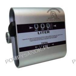 Przepływomierz do oleju napedowego - licznik mechaniczny TECH FLOW Pompy i hydrofory