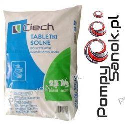 Sól tabletkowana, sól tabletkowa, sól pastylkowana, tabletki solne - 25kg CIECH Odkamieniacze