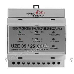 Elektroniczny układ zabezpieczający UZE 05/25 - teraz UZE 06 Elektryka i akcesoria