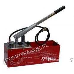 Pompa kontrolna do sprawdzania ciśnienia i szczelności z manometrem PR50 - do 50 bar