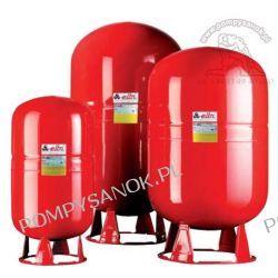 Naczynie przeponowe do centralnego ogrzewania o pojemności 80L Pompy i hydrofory