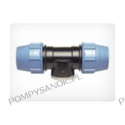 Trójnik skręcany 90st. z gwintem wewnętrznym PE PN16 Pompy i hydrofory