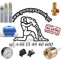 Zestaw głębinowy Pompa SKM 100 230V ze zbiornikiem hydroforowym 50l + akcesoria