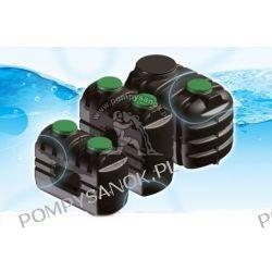 Zbiornik PEHD na wodę pitną Sotralentz W-212 pojemność 1000 l