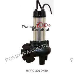 Zatapialna pompa EVAK HIPPO 200 S DN80 Pozostałe