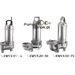 Pompa ze stali kwasoodpornej 50EWS-5,05 Pompy i filtry