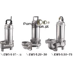 Pompa ze stali kwasoodpornej 80EWS-5,30 Pozostałe