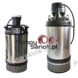 Pompa zatapialna, odwodnieniowa 100EUB-5,200 T - wersja 3-fazowa Pozostałe