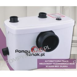 Przepompownia SANIBO 1 IBO Pompy i hydrofory
