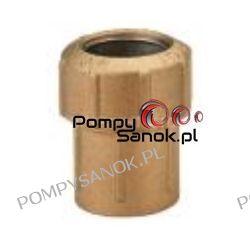 """Złączka mosiężna prosta PE 1 1/4""""x40 GW gwint wewnętrzny / mufa przejściowa 010 Pompy i hydrofory"""