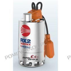 Pompa do odwodnień stal nierdzewna PEDROLLO RX 3/20,RXm 3/20 VORTEX Pompy i hydrofory