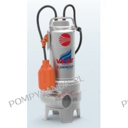 Pompa ściekowa PEDROLLO VX 15/35-ST, VXm 15/35-ST VORTEX stal AISI 304