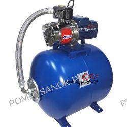 Zestaw hydroforowy Pedrollo JCRm 2A/80l 230V 1,1 kW  Pompy i hydrofory