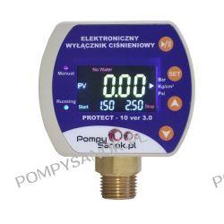 Elektroniczny wyłącznik ciśnieniowy EWC PROTECT 10 wer.3.0 z zabezpieczeniem przed suchobiegiem i przeciążeniem Pompy i hydrofory