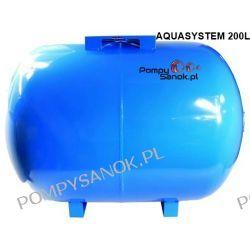 Zbiornik hydroforowy przeponowy 200L AQUASYSTEM POZIOM
