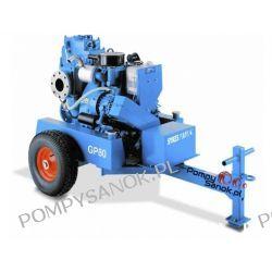 Wynajem mobilnej pompy spalinowej GP 80 Pompy i hydrofory