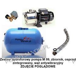 Zestaw hydroforowy pompa M 99 230V SAER zbiornik 80l M99/80l Pompy i hydrofory