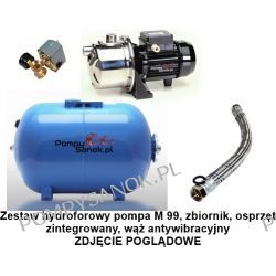 Zestaw hydroforowy pompa M 99 230V SAER zbiornik 100l M99/100l Pompy i hydrofory