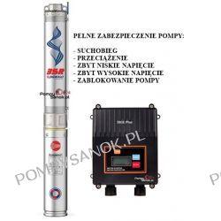 Pompa głębinowa PEDROLLO 4SR 4-18 zasilanie 230V z pełnym zabezpieczeniem SB3E Plus Dom i Ogród
