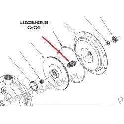 Uszczelnienie mechaniczne CDHS/CDXHS fi 15 mm