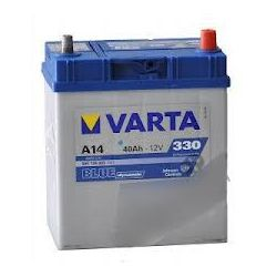 AKUMULATOR VARTA BLUE Dynamic 40Ah 330A A14  HONDA JAZZ II (GD) HYUNDAI I10  ATOS PRIME (MX)...