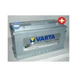 AKUMULATOR 100Ah 830A VARTA SILVER H3VW PASSAT SHARAN TOUAREG TRANSPORTER T3 T4 T5 VENTO...