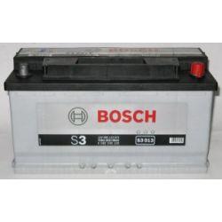 Akumulator BOSCH 90AH 720A P+ 12V BOSCH SILVER S3.013  0092S30130,590122072, S3013...
