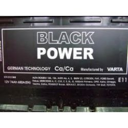 Akumulator 70Ah 550A JP+ VARTA BLACK POWER WROCŁAW...