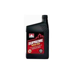 olej silnikowy półsyntetyczny SUPREME 10W30 10W-30 10W 30 PETRO-CANADA 1L ... Oleje silnikowe