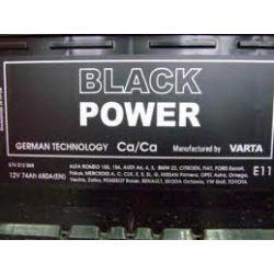 Akumulator VARTA Black Power 62Ah 480A PRAWY+ WROCŁAW, TANIO...