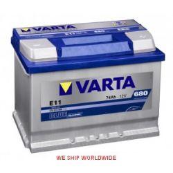 Akumulator VARTA BLUE DYNAMIC 74Ah 680A +P E12 NOWY. WROCŁAW, GWARANCJA 2 LATA...