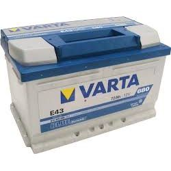 AKUMULATOR VARTA BLUE E43 72Ah 680A 5724090683132 WROCLAW...