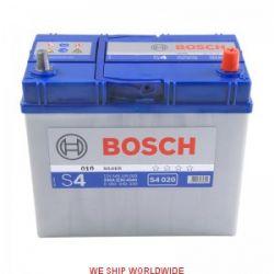 Akumulator BOSCH SILVER 45AH 330A JP+12V BOSCH S4.020, 0092S40200,545155033,S4020, Wrocław...