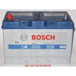 Akumulator TOYOTA HIACE III TOYOTA HIACE IV TOYOTA LAND CRUISER BOSCH 95AH 830A JL+ 12V BOSCH SILVER S4.029 WROCŁAW...