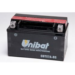 AKUMULATOR SUZUKI LT-R Quadracer,LT-Z90 QuadSport UNIBAT CBTX7A-BS 6Ah 90A 12V (1)...