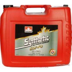 olej silnikowy 5W40 5W-40 5W 40 SYNTHETIC PETRO-CANADA 20l...