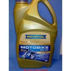 olej RAVENOL Motobike 5W-40 Ester 5W40 5W 40 4l...