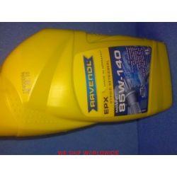 olej przekładniowy RAVENOL EPX SAE 85W140 1l API GL-5 MIL-L-2105D...